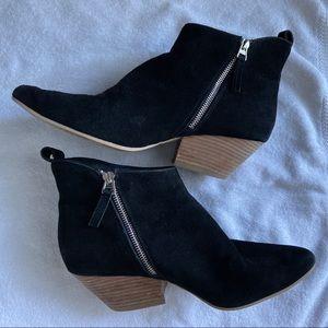 Dolce Vita black block heel booties Sz10